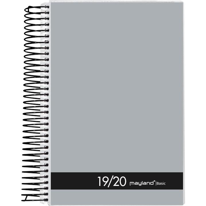 Studiekalender 19/20 Basic stor 12x17cm 1dag/side 20 8200 00