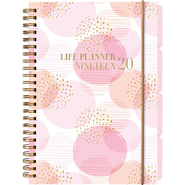 Studiekalender 19/20 Life Planner A5 uge højformat 20 8153 00