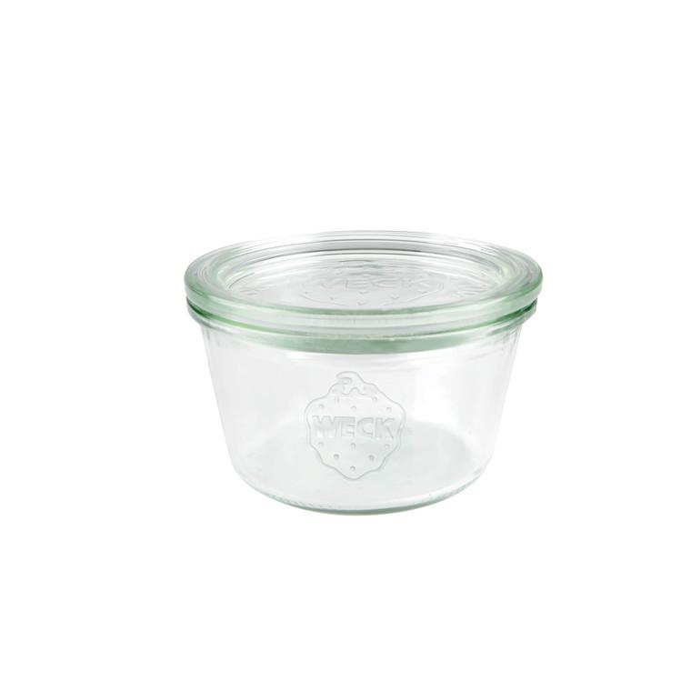Sylteglas Weck incl låg (741) 370ml Ø10x6,9cm 6stk/pak