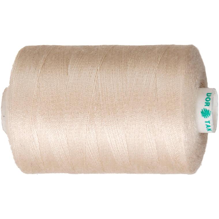 Sytråd beige polyester | 1000 meter