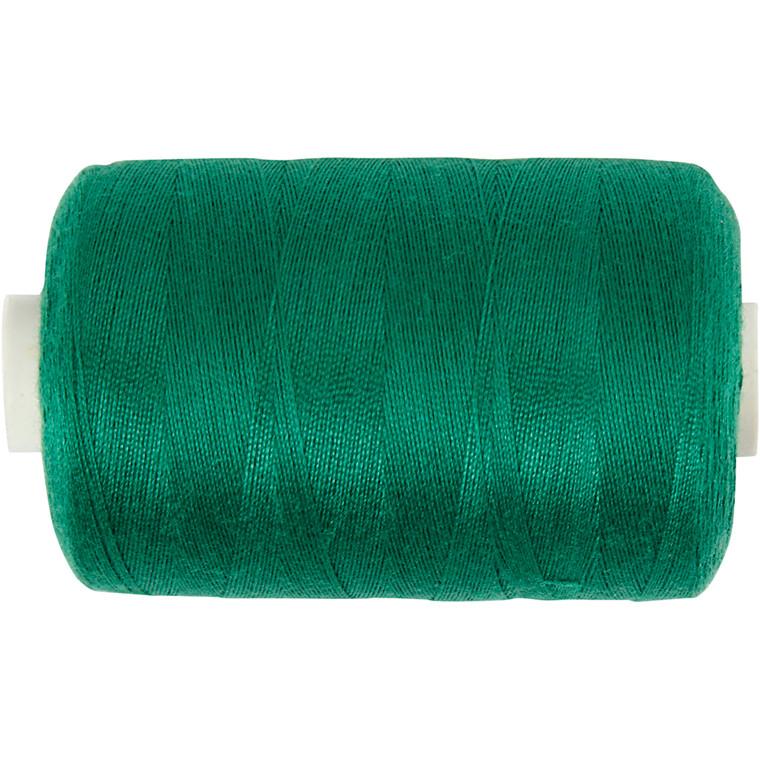 Sytråd, grøn, polyester, 1000 m