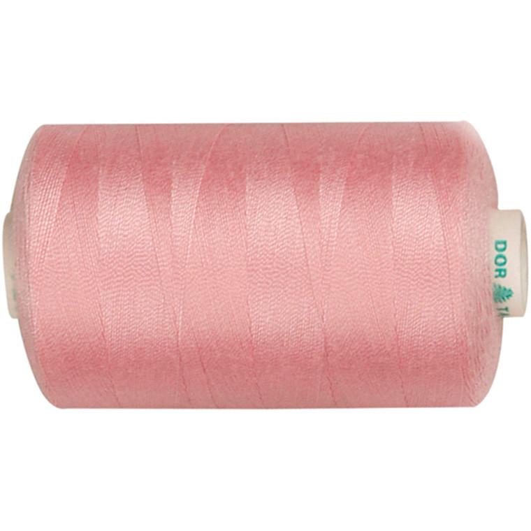 Sytråd, lyserød, polyester, 1000 m