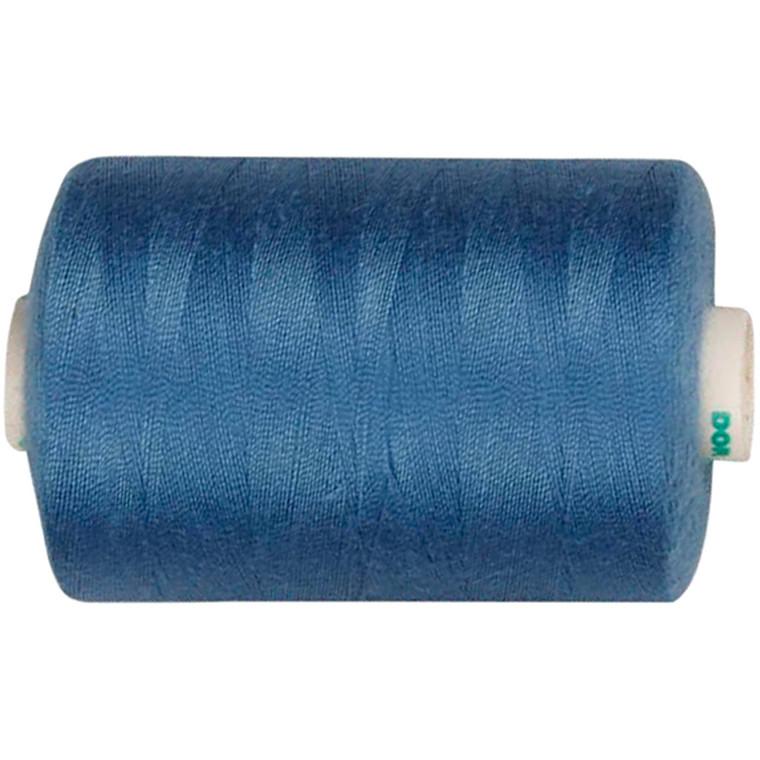 Sytråd, mellem blå, polyester, 1000 m