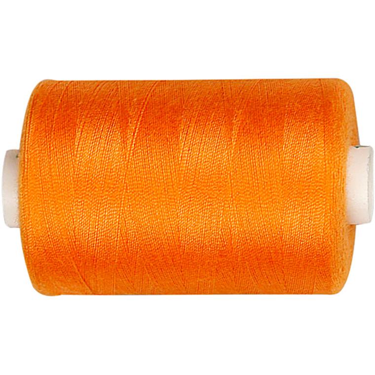 Sytråd, orange, polyester, 1000 m