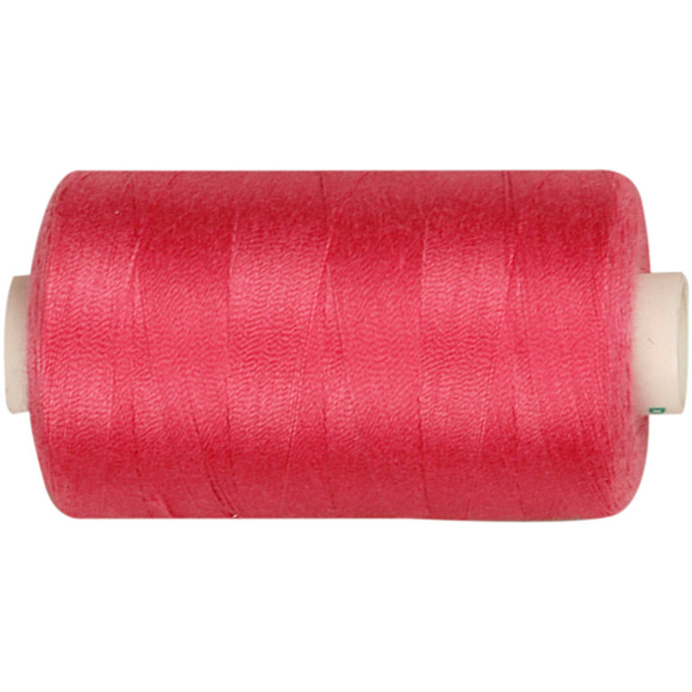 Sytråd pink polyester | 1000 meter