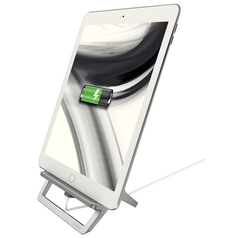 Tablet stand - Leitz Style aluminium