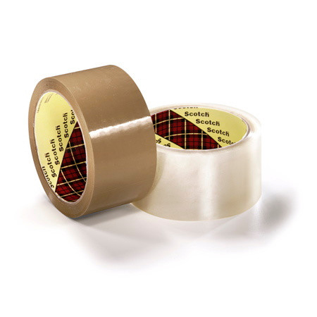 Tape 3M 371 PP hotmelt brun - 48 mm x 66 m