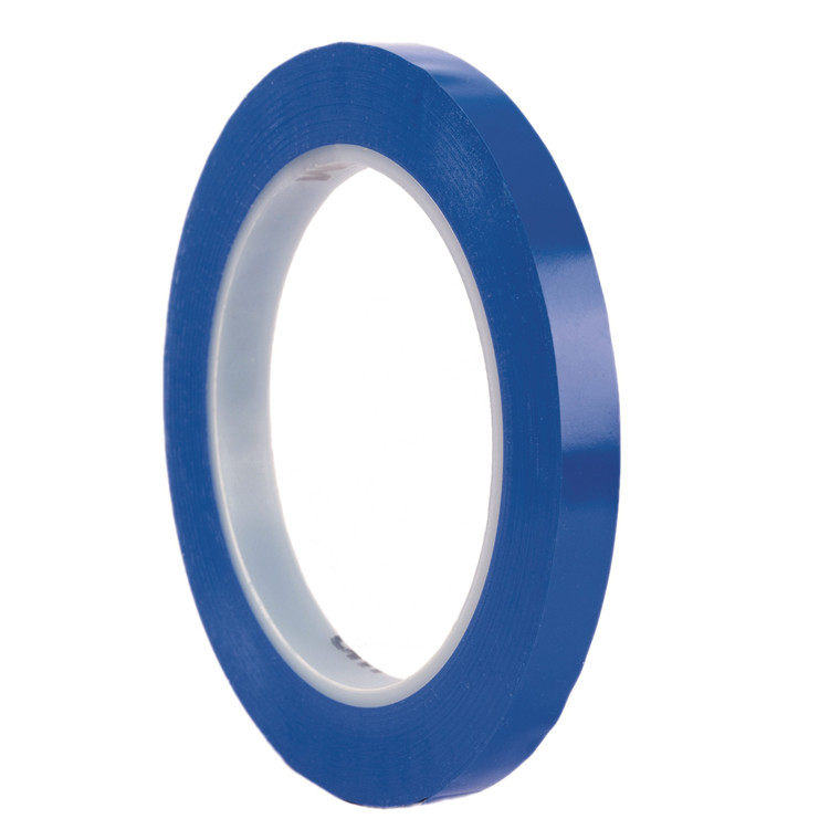 Tape 3M vinyl blå 6mmx33m 471