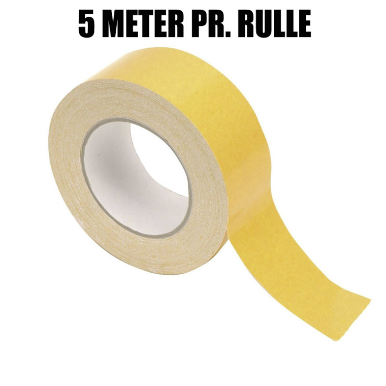 Dobbeltklæbende tape - 48 mm x 5 m