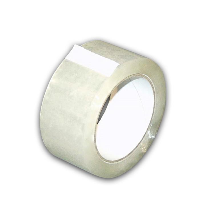 Tape EAN PP35 acrylic eks.klæb 48mmx66m klar støjsvag