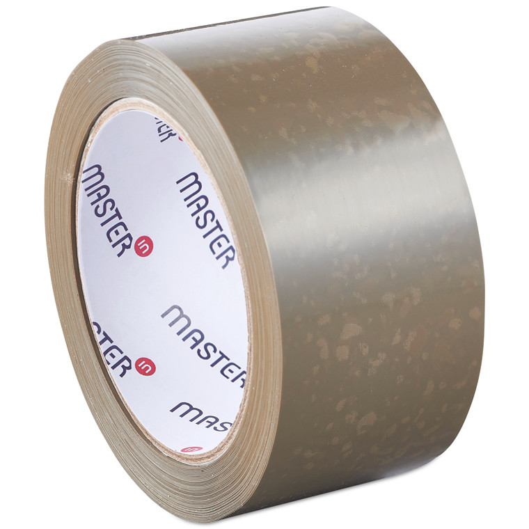 Tape Master'In PP28 brun solvent 48mmx66m støjsvag