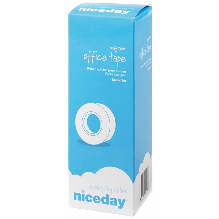 Tape niceday klar - 19 mm x 33 m - kerne Ø 25 mm 1526886