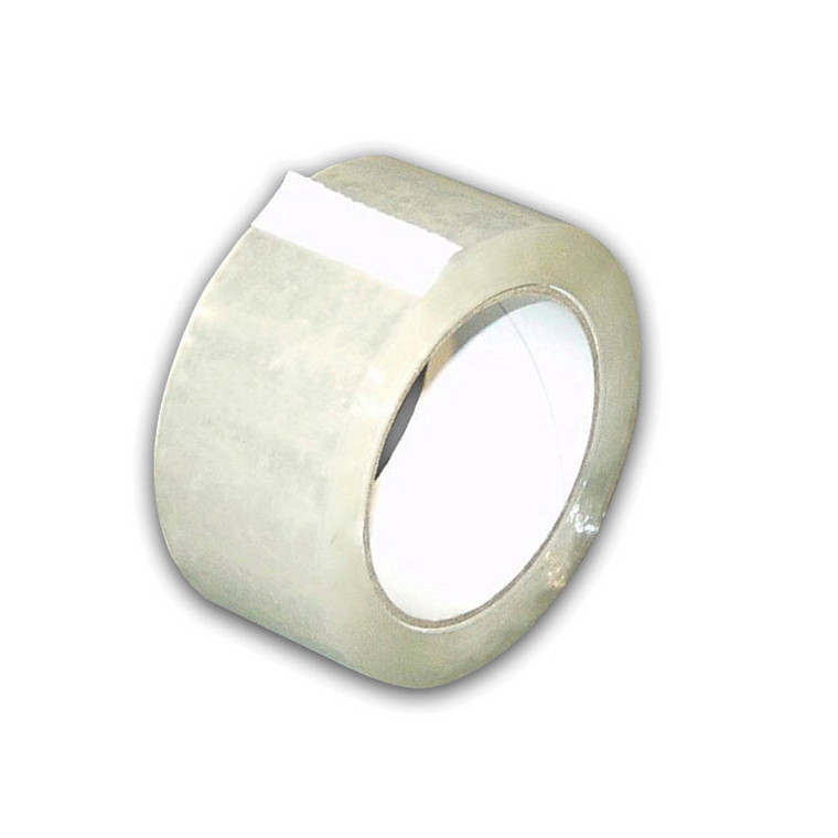 Tape polyethylene-s klar 48mmx50m 36rl/kar