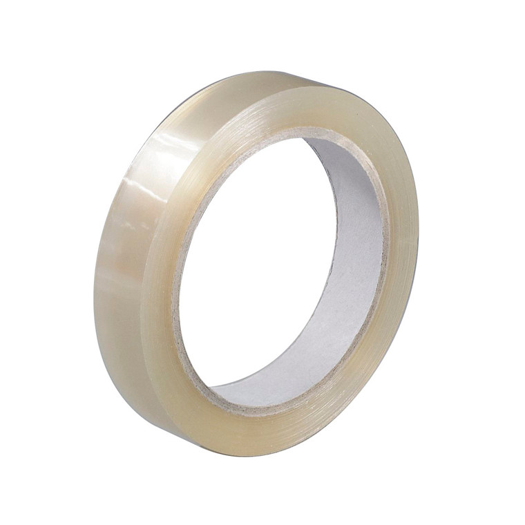 Tape PP klar 15 mm x 66 m - kernediameter 75 mm