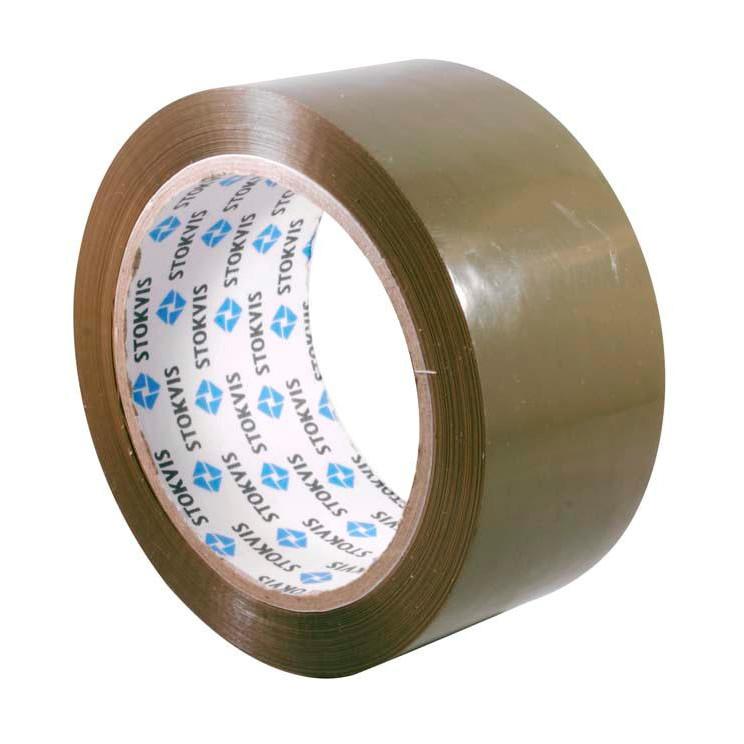 Tape PP-low noise brun - 48 mm x 66 meter