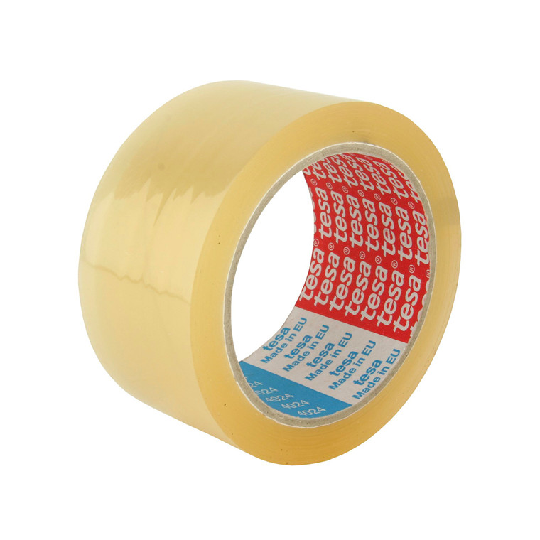 Tape PP28-acryl Tesa 4024 klar - 48 mm x 66 m