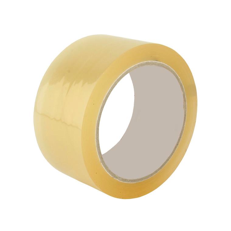 Tape PP35 acrylic ekstra klæb 38mmx66m klar støjsvag 48rl/ka