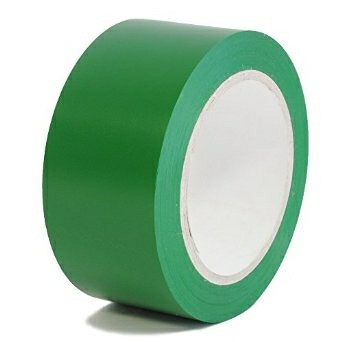 Tape PVC-s grøn - 48 mm x 66 m