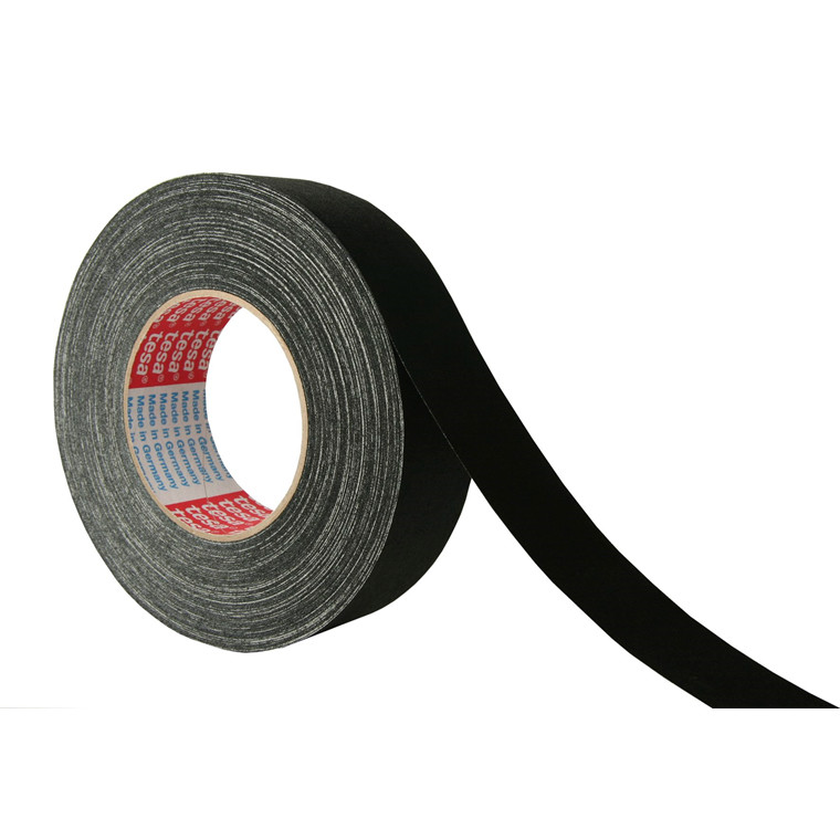 Tape tesa lærred sort - 38 mm x 50 m 4671