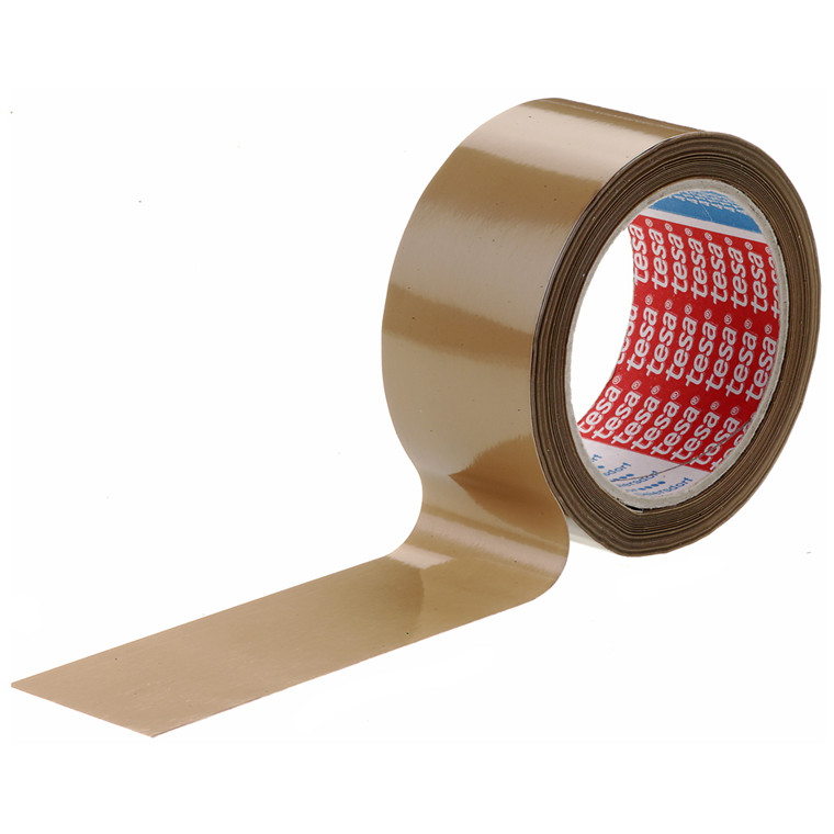 Tape tesa PVC - brun 48 mm x 66 m 4120