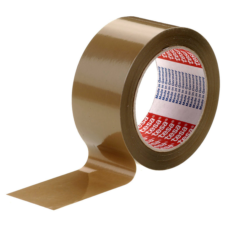 Tape tesa PVC brun - 48 mm x 66 m 4124