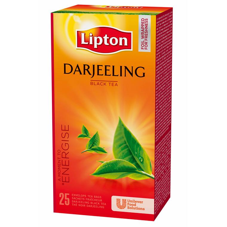 Te Lipton Darjeeling Himalaya - 25 breve i en æske