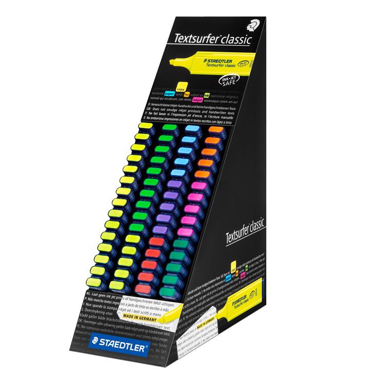 Tekstmarker STAEDTLER 364 Display assorteret 60stk