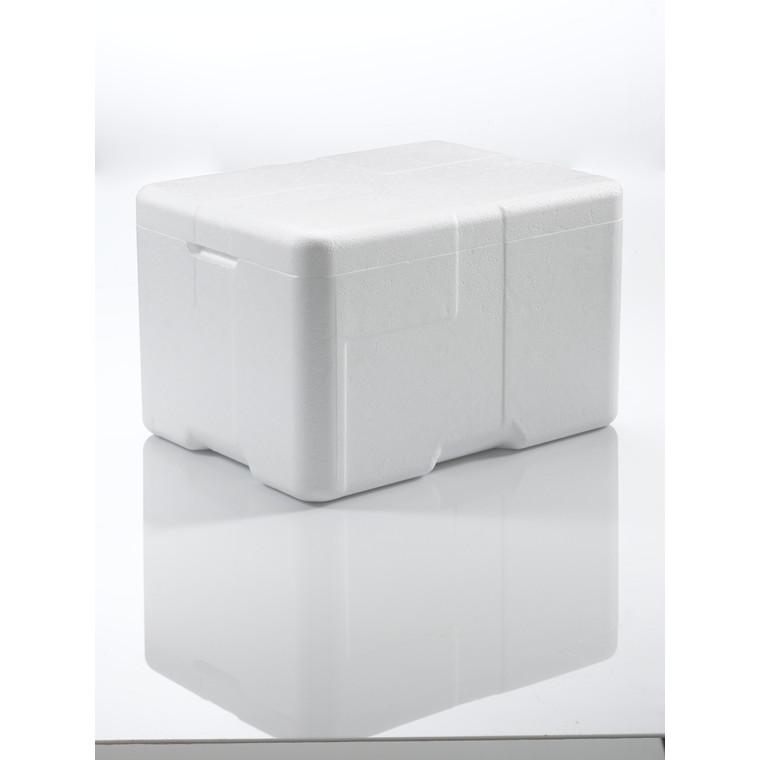 Termoskumkasse Coolsafe 2 hvid - 400 x 300 x 247 mm - inklusiv låg
