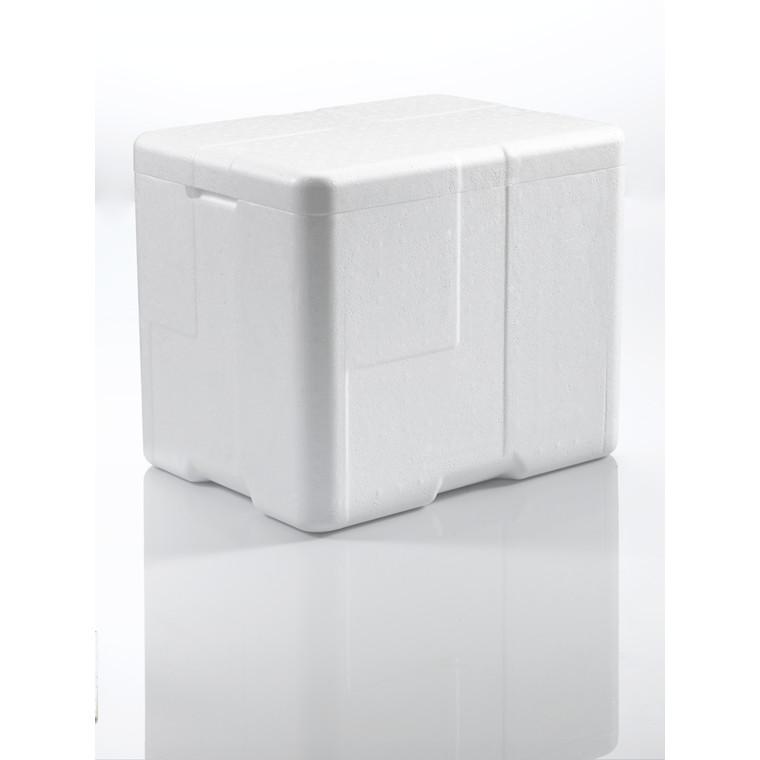Termoskumkasse Coolsafe 3 hvid - 400 x 300 x 330 mm - inklusiv låg