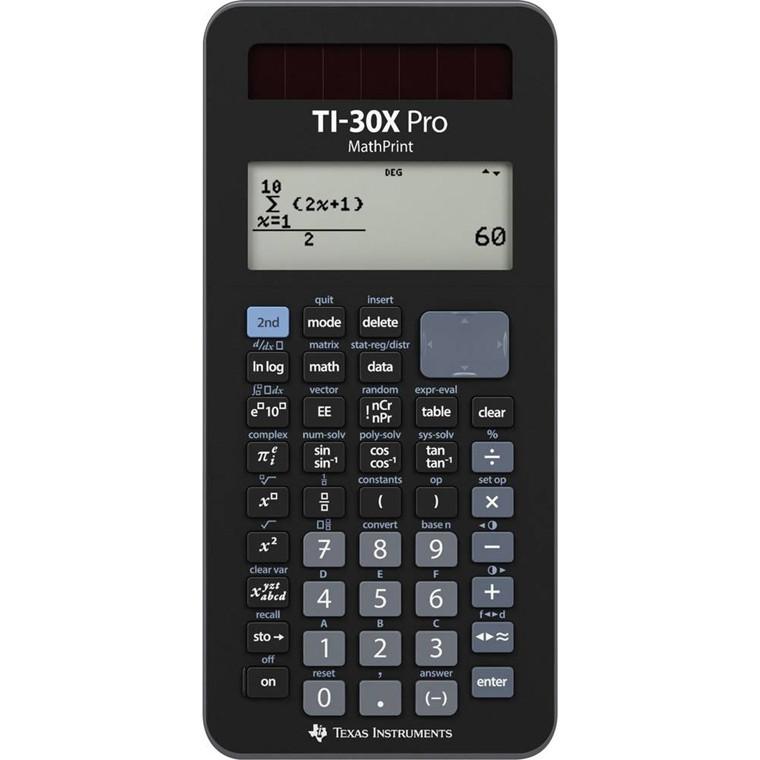 Texas Instruments Texas TI-30X Pro Mathprint Scientific calculator