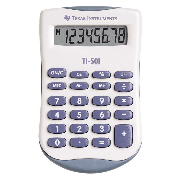 Texas Instruments Texas TI-501 calculator blisterpacked