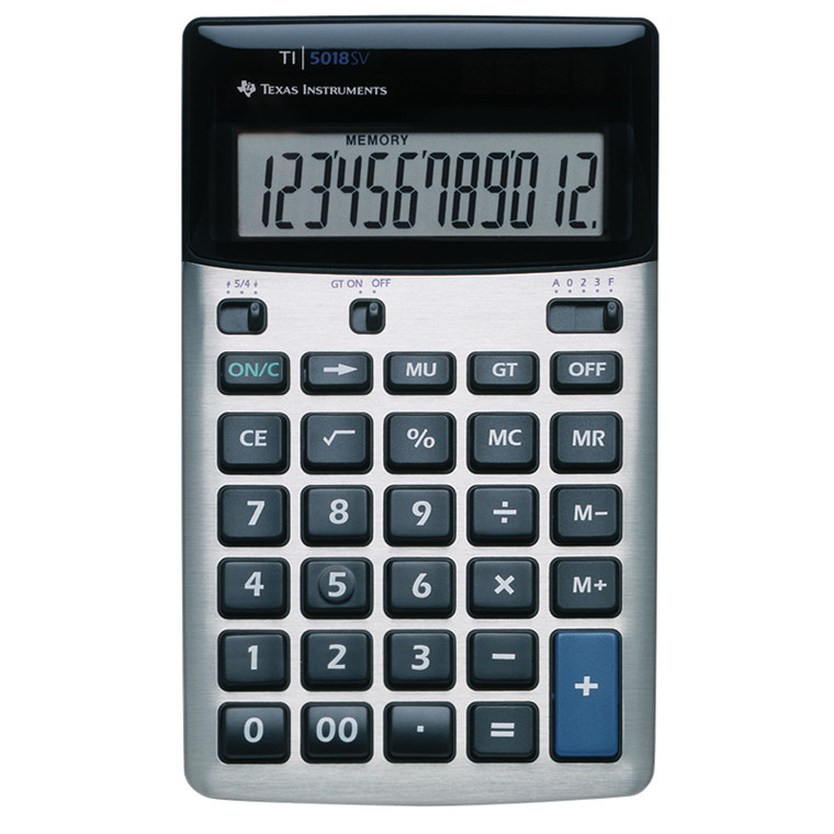 Lommeregner - Texas Instruments Texas TI-5018 SV desktop calculator