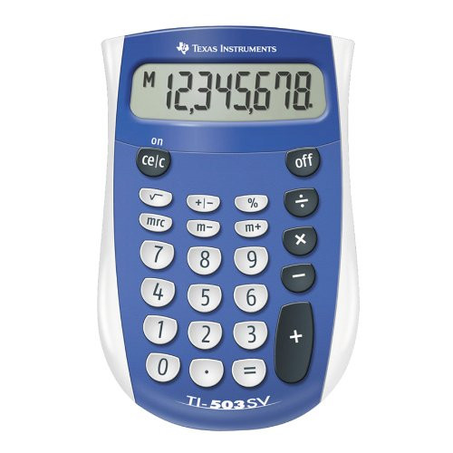 Texas Instruments Texas TI-503 SV calculator blisterpacked