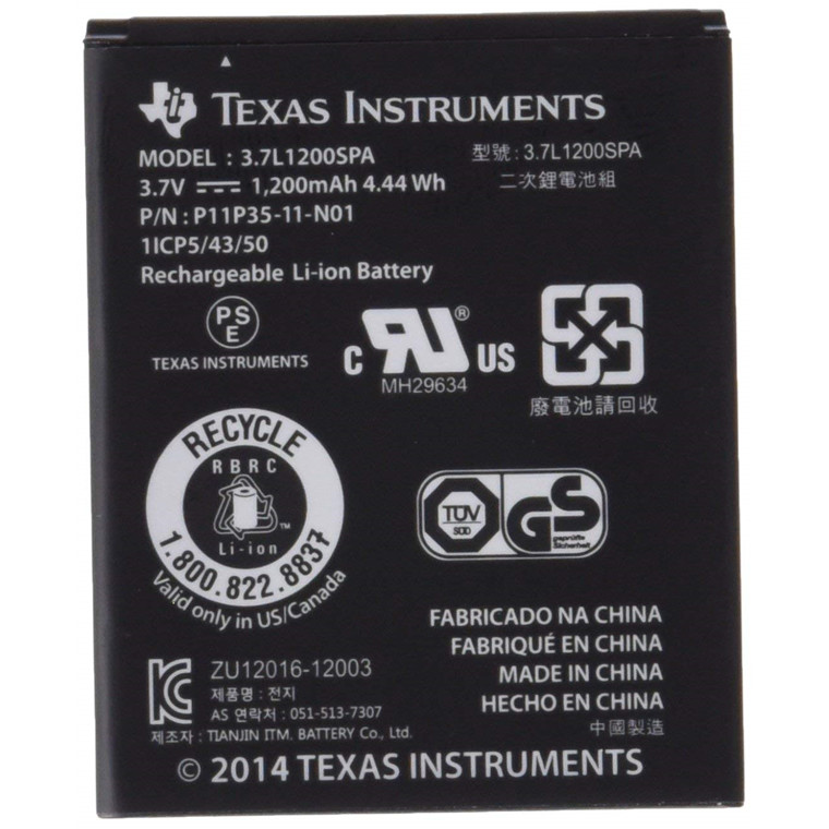 Texas Instruments Texas TI  Rechargeable Battery wireless