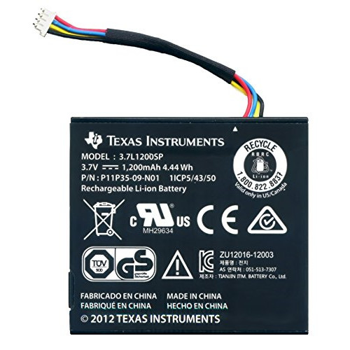 Texas Instruments Texas TI  Rechargeable Battery with wire