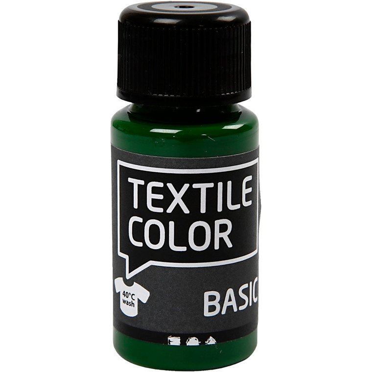 Textile Color, græs grøn, 50ml