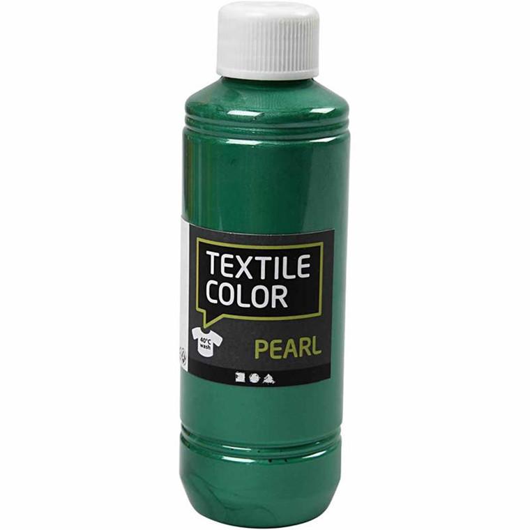Textile Color, grøn, pearl, 250ml
