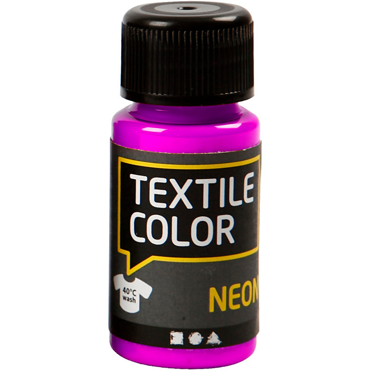 Textile Color, neon lilla, 50ml