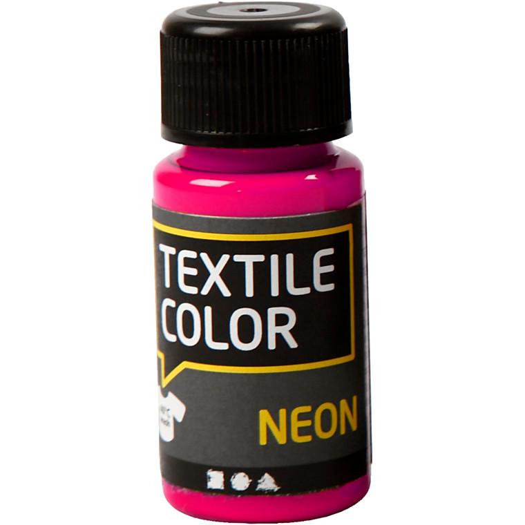 Textile Color, neon pink, 50ml