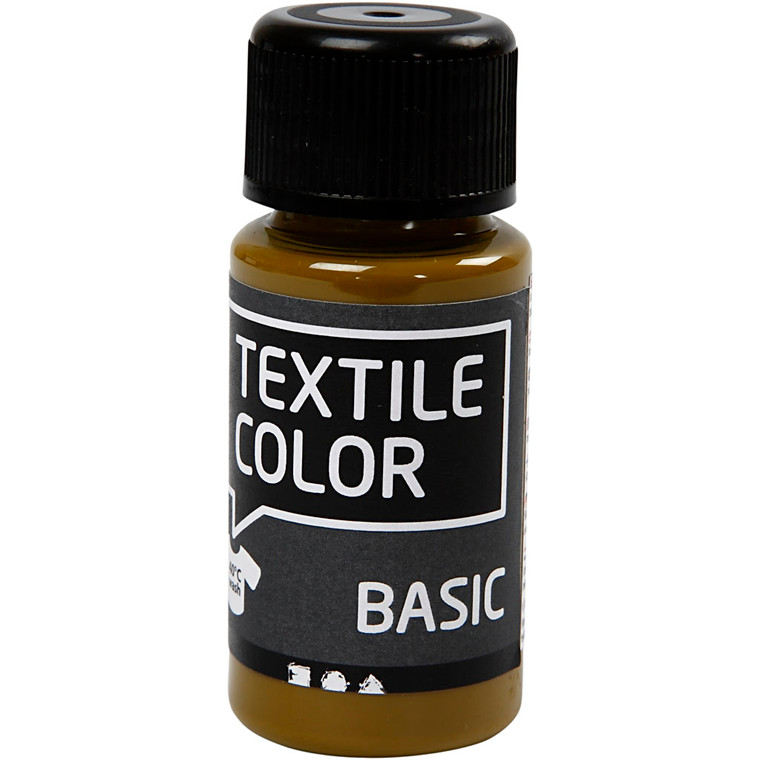 Textile Color, olivenbrun, 50ml