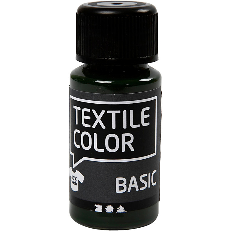 Textile Color, olivengrøn, 50ml