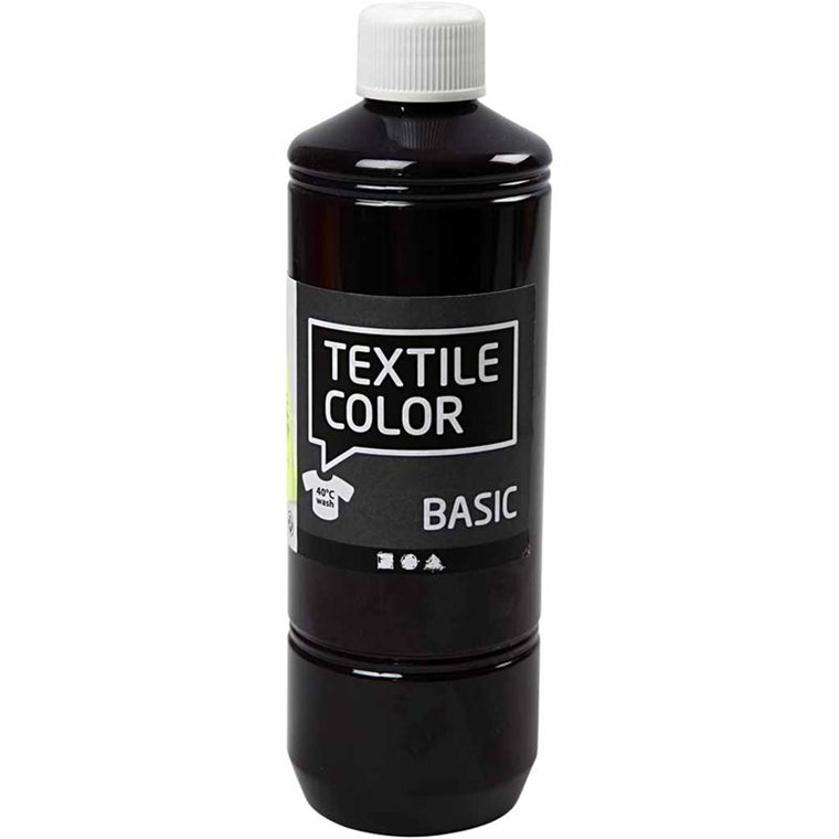 Textile Color, rød violet, 500ml