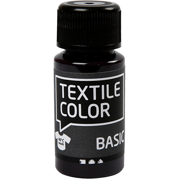 Textile Color, rød violet, 50ml