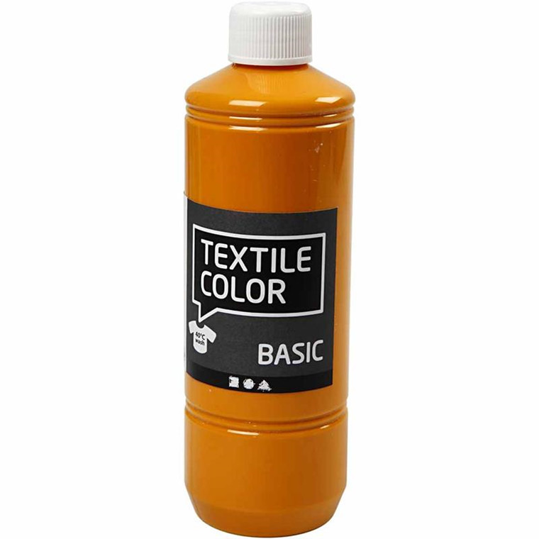 Textile Color, sennepsgul, 500ml