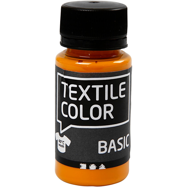 Textile Color, sennepsgul, 50ml