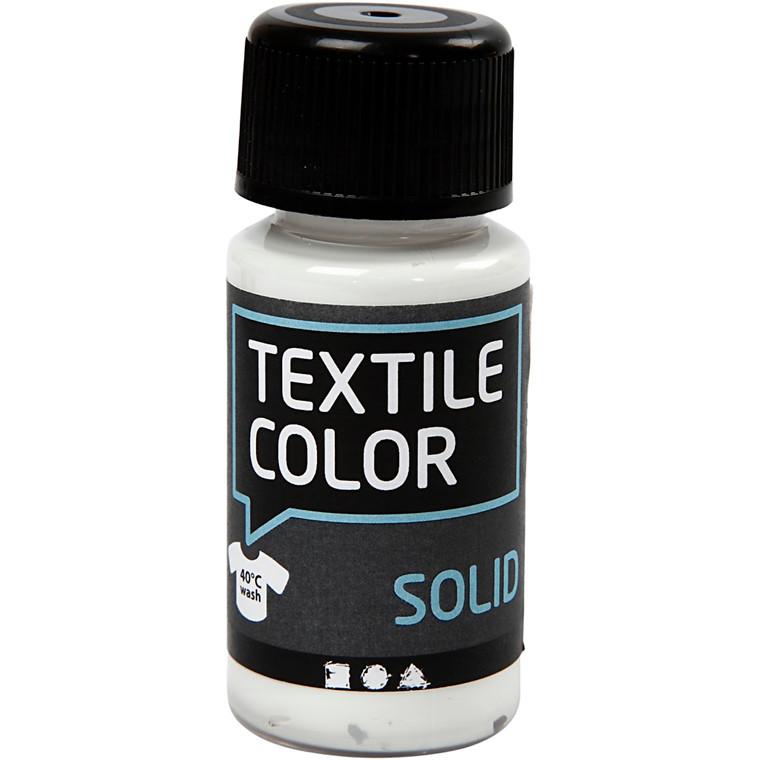 Textile Solid, hvid, 50ml