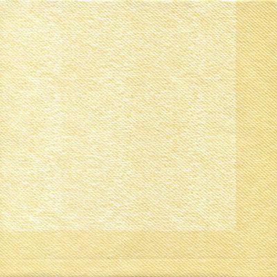 Textú serviet, Gastro-Line, 1/4 fold, design, creme, airlaid, 40x40 cm,