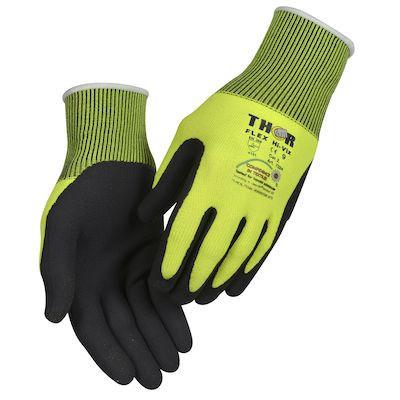 Thor Flex Touch Screen - Størrelse 10 - Fingerdyppet nitrilhandske