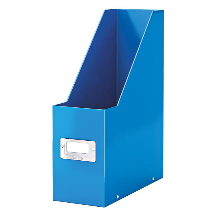 Tidsskriftholder A4 Leitz Click & Store | WOW blå