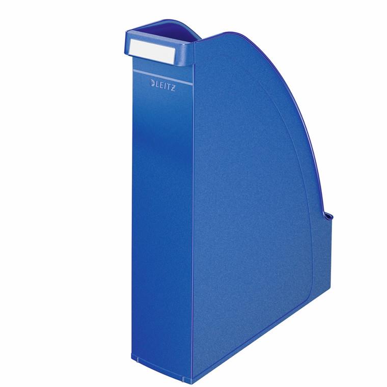Tidsskriftsamler A4 Leitz Plus med 70 mm ryg - Blå